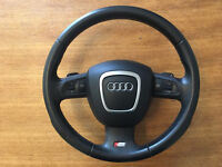 Audi A3 S Line Multi functional Steering Wheel and Airbag Flappy paddles complete
