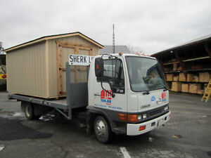 """""""QUALITY BUILT"""" SHEDS-TO-GO!!  Proudly made in Port Colborne ON."""