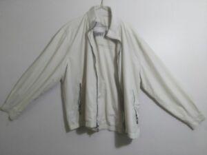 Tommy Bahama tan white spring/fall  jacket XL