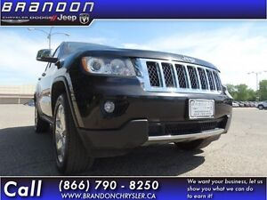 2012 Jeep Grand Cherokee Overland  Keyless Entry, Heated Front S
