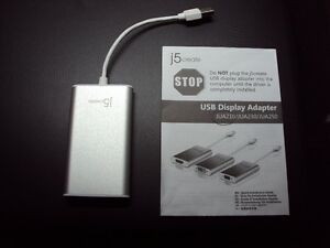 j5 CREATE-JUA210 USB (2.0)to VGA Monitor/TV Adapter