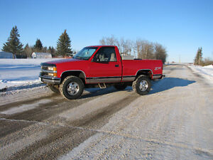 1995 Chevy reg cab short box 4x4