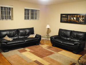 6 MTH LEASE; GORGEOUS BI-LEVEL BSMT SUITE NEW RENOS, ALL HDWD