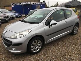 2007 PEUGEOT 207 1.4 S 3dr 1 OWNER FSH BEST DRIVING 207 IVE HAD