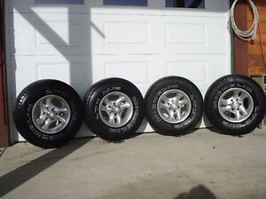 TIRES & RIMS FIT CHEV/GMCPICK UP/YUKON/AVALANCHE