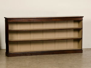 HI IM LOOKING FOR A LONGER WIDER LOW BOOK SHELF