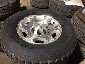 LT265/70R17 set of 4 came of 09 GMC 2500