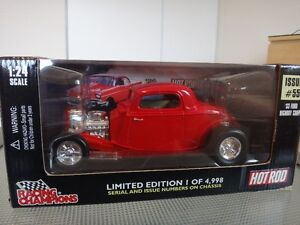 Racing Champions Ford Highboy Coupe 33 1:24 Black