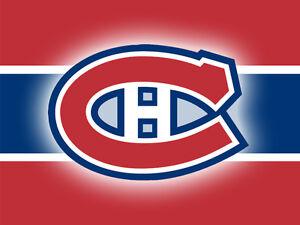 2 billets canadiens vs rangers samedi 14 janvier