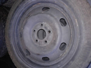 four goodyear ice 205/55r16 on 5 bolt x 114.3 rims TRURO