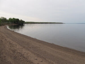 one acre with 100ft Sandy Beach Grand Lake