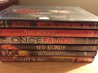 DVDs for hours of viewing pleasure