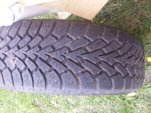 P195/60R15 with alloy rims Cornwall Ontario image 2