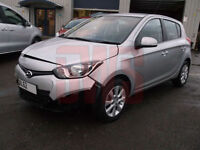 2013 Hyundai i20 Style 1.2 A/C DAMAGED REPAIRABLE SALVAGE