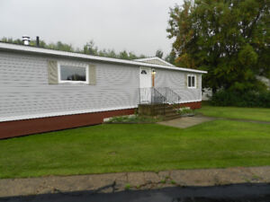 2 Bdr/2Bath Modular Home With Massive Garage in Peace River