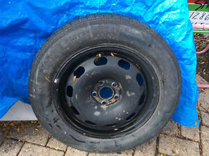 VW Jetta spare tire