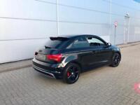 201414 reg Audi A1 1.2 TFSI S Line Black + Nice All Black spec