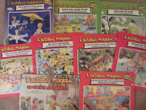 Magic School Bus French Books