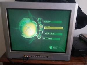 Original Xbox+2 duke controllers+8games