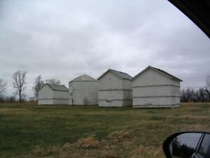 Graneries/sheds/barn.