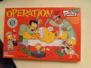 Operation Game with Homer Simpson