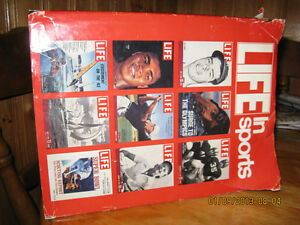1985 Life In Sports hard covered book