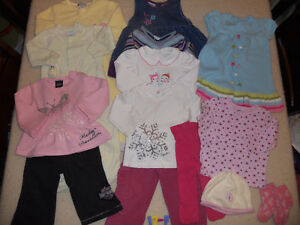 Group of Baby Girl clothes for $10 (ad 12-F)