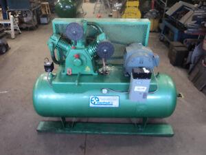 Compresseur 80 gal. 10 HP Airtech. Pompe HTA-100, 575 V.
