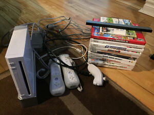 Wii with everything included