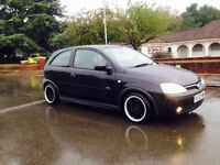 CORSA 1.2-2003 SXI BLACK-3 DOORS CLEAN IN OUT NEW WATERPUMP NEW TIMING CHAIN HPI CLEAR RUNS PERFECT