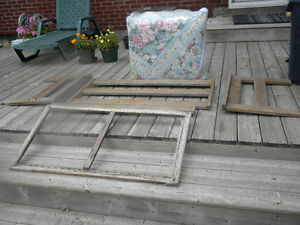 Love Seat Restoration Project - Cedar Construction with Cushion
