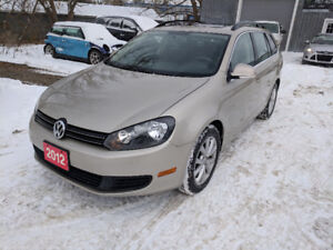 2012 VW GOLF  WAGON