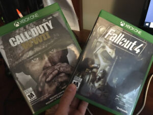 Call of Duty WWII or Fallout 4 both for XBOX One