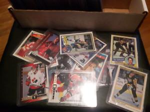 carte de hockey recrue 1977-2000