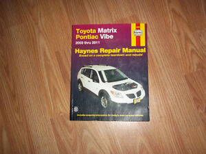Car repair manuals