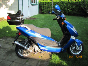 2007 Kymco Bet & Win 150 - Won't fit in shed - $650.00