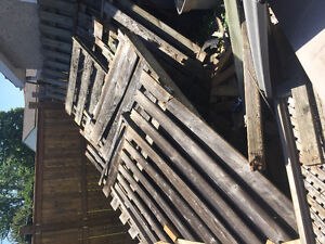 Free old fencing