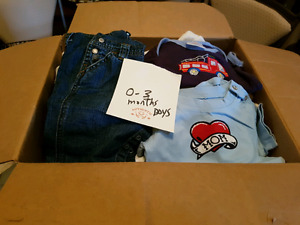 Boys 0-3 month clothing lots huge