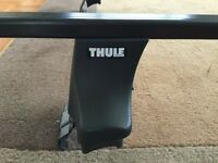 Thule 750 Rapid System Foot Pack & Roof Rack Bars