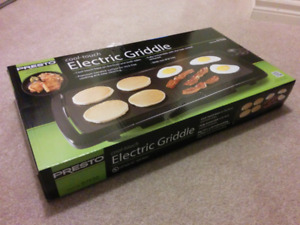Portable Electric Griddle / Stove - NEVER OPENED!!!
