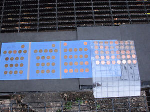 Canada Complete One Cent Penny Coin  Collection 1920-2012