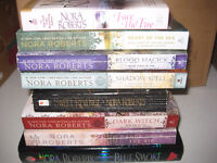 Nora Roberts - Collection of 8 books for $5