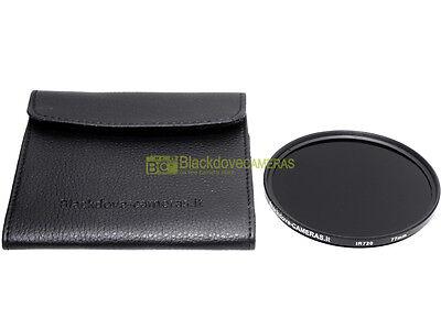 77mm. Filtro infrarosso 720nm Blackdove-cameras. * NUOVO * Con custodia.