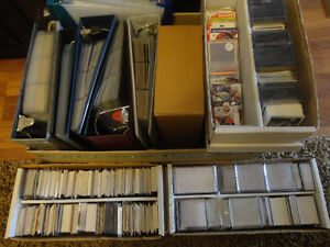 6000-7500 Mixed Sport Lot Mainly Hockey Tons of Rookie & Insert