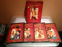 "NEW- ""The Adventures of Indiana Jones(Four-Disc DVD Boxed Set)"""