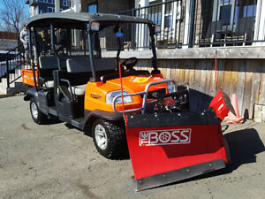 2013 Kubota RTV1140 CPX 4 passenger Side by Side with 6' plow