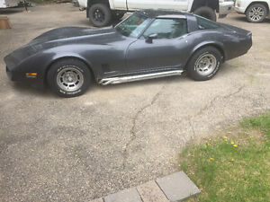 1981 Corvette.