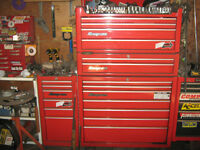 Snap-On 4 pc. tool boxes.