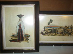 Bedouin Paintings