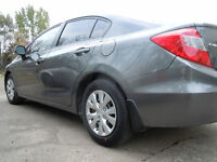 2012 Honda Civic cloth Sedan